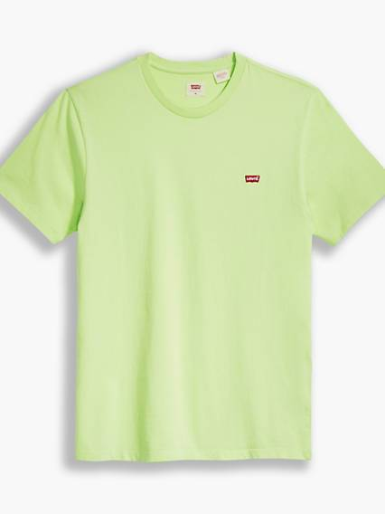 Levis Original Housemarked Tee Neutral / Shadow Lime