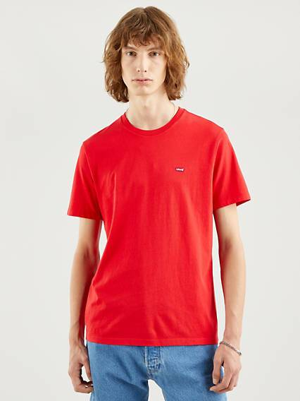 Levis Original Housemarked Tee Rosso / True Red