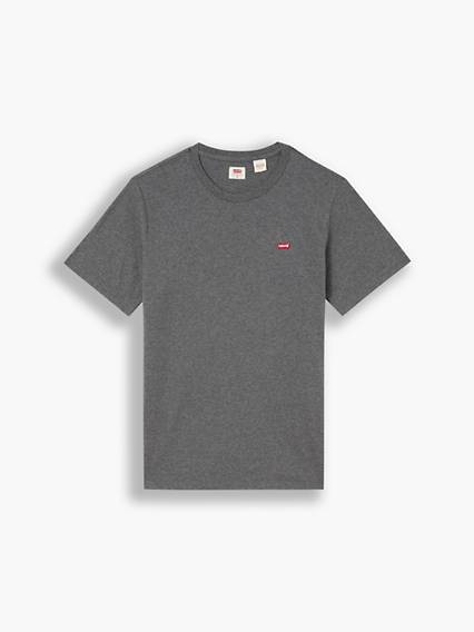 Levis Original Housemarked Tee Neutral / Charcoal Heather