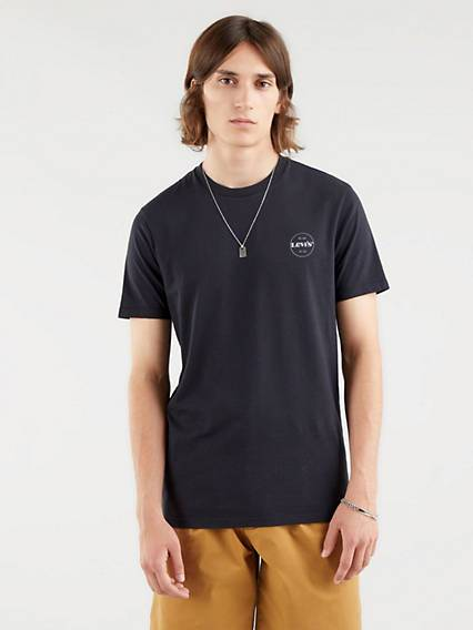 Levis The Perfect Graphic Tee Nero / Caviar
