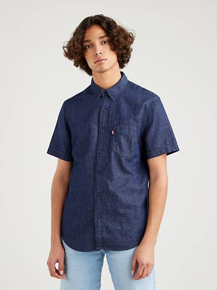 Levis Sunset Standard Shirt Neutral / Hemp Rinse