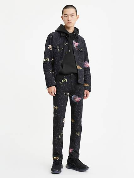 Levis X Star Wars 501 Slim Taper Jeans Multicolore / Galaxy Aop