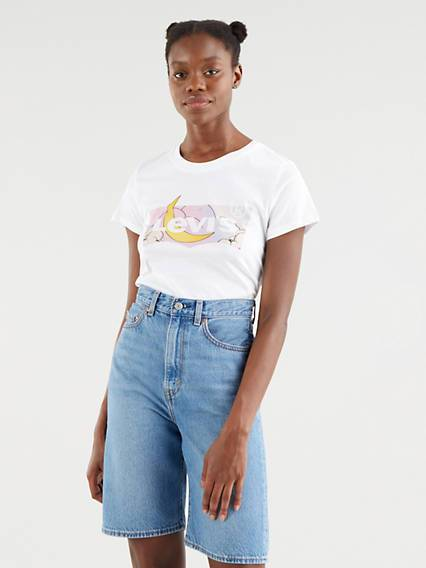 Levis The Perfect Tee Neutral / Dreamy White