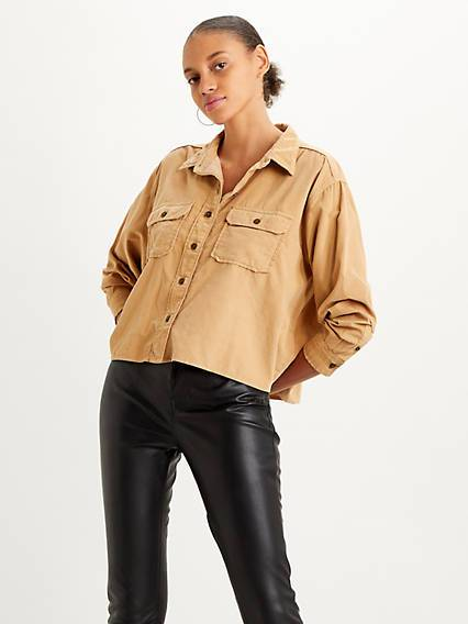 Levis Utility Shirt Marrone / Iced Coffee