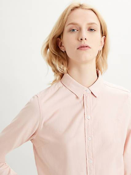 Levis The Classic Shirt Neutral / Sepia Rose
