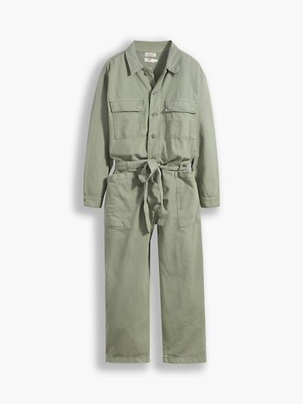 Levis Jumpsuit (Plus) Verde / Soft Surplus Sea Spray