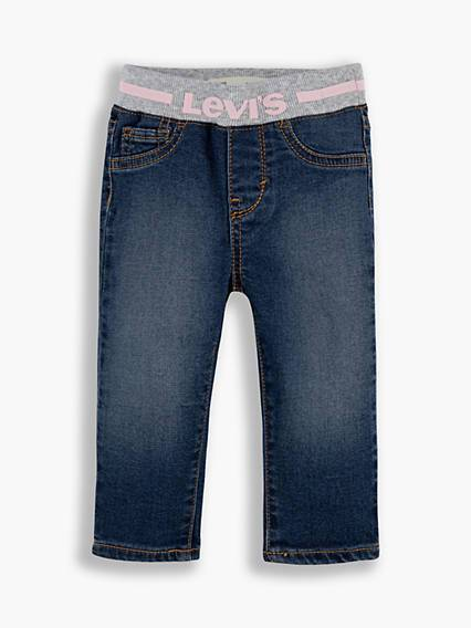 Levis Baby Pull On Skinny Jeans Blu / Blue