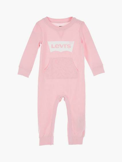 Levis Baby Knit Coverall Rosa / Rose Shadow