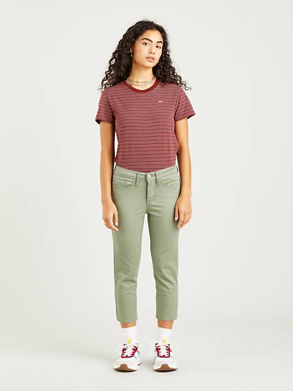 Levis 311 Shaping Skinny Jeans Verde / Sea Spray