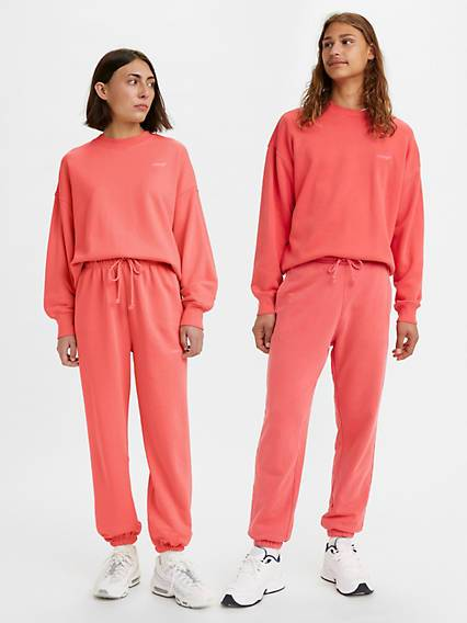 Levis Red Tab Sweatpants Rosa / Paradise Pink Garment Dye