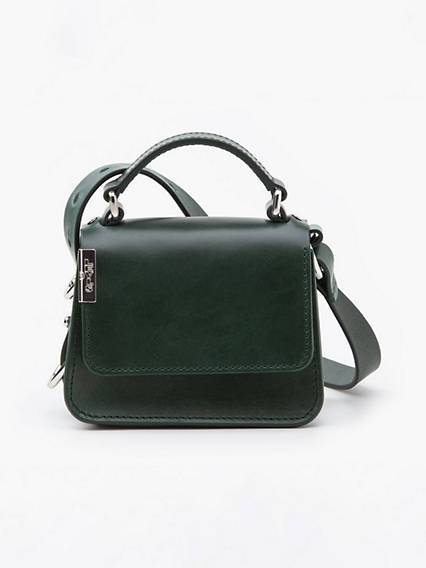 Levis Premium L Bag Mini Handbag Verde / Regular Green