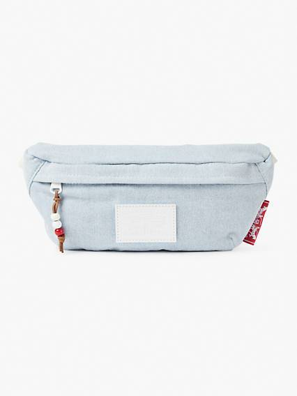 Levis Banana Denim Sling Bag Blu / Light Blue