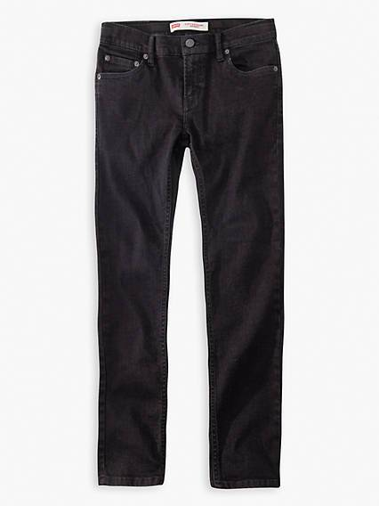 Levis Teenager 519 Extreme Skinny Jeans Nero / Forever Black
