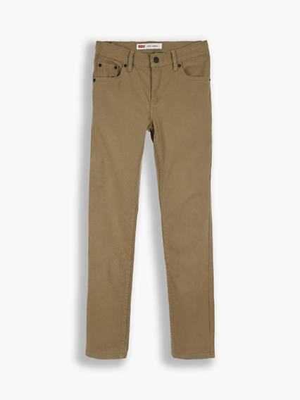Levis Teenager 510 Skinny Fit Pants Verde / Khaki