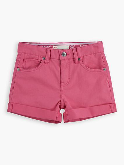 Levis Teenager Shorty Shorts Rosa / Camellia Rose