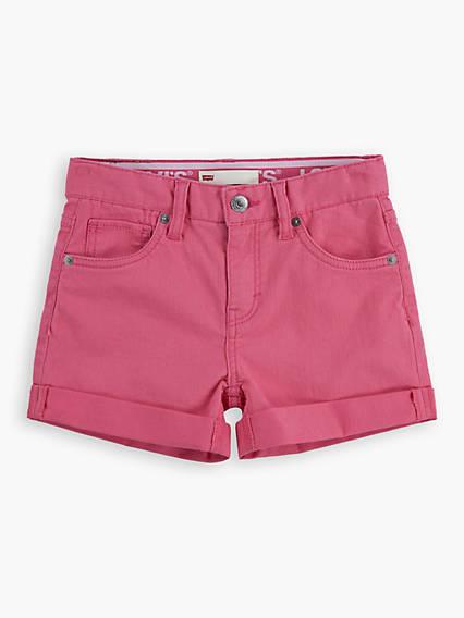 Levis Teenager Shorty Shorts Rosa / Camellia Rose