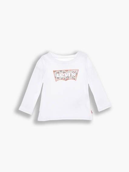 Levis Baby Graphic Tee Bianco / White