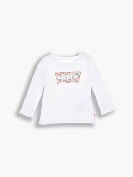 Levis Baby Graphic Tee Bianco / White