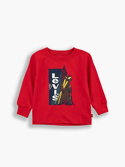Levis Baby Graphic Tee Rosso / Super Red