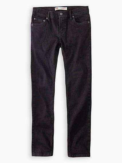 Levis Kids 519 Extreme Skinny Jeans Nero / Forever Black