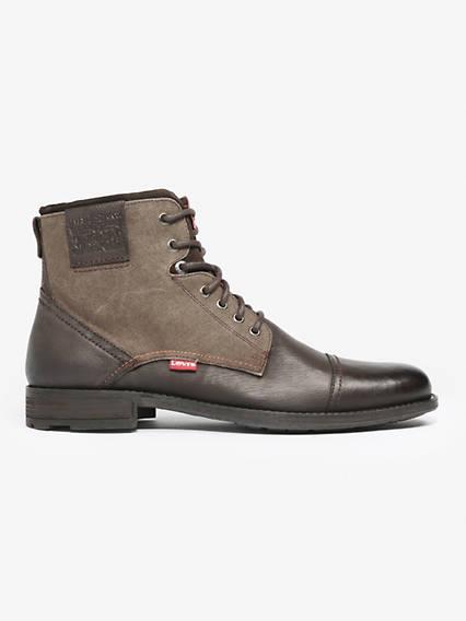 Levis Fowler Boots Marrone / Dark Brown