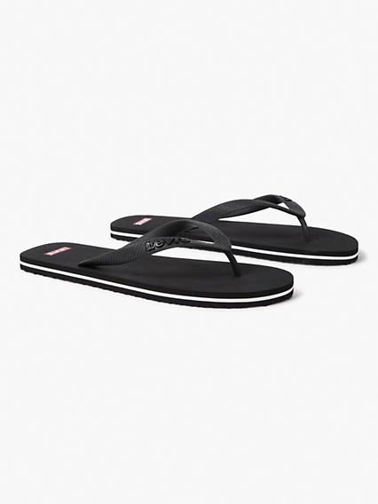 Levis Dixon 2.0 Flip Flop Nero / Brilliant Black
