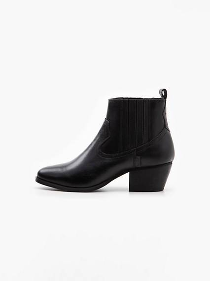 Levis Western Boots Nero / Regular Black