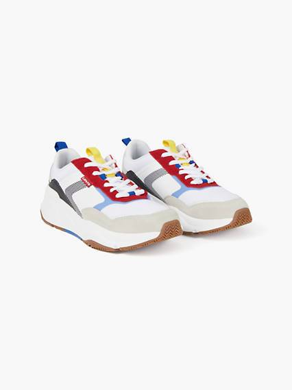 Levis West Shoes Bianco / Regular White