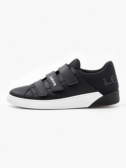 Levis Mullet Velcro Sneakers Nero / Regular Black