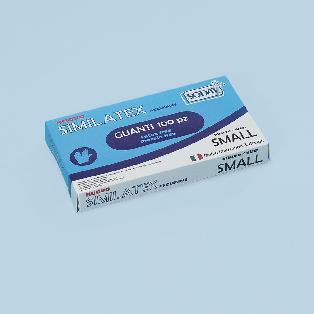 mascherine.it Guanti monouso Similatex (CE) - SMALL