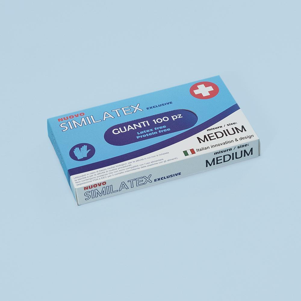 mascherine.it guanti monouso similatex (ce) - medium