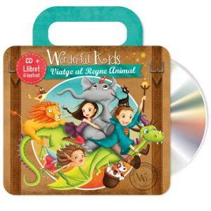 Wonderful kids Cd musica viatge al regne animal lingua catalano-inglese