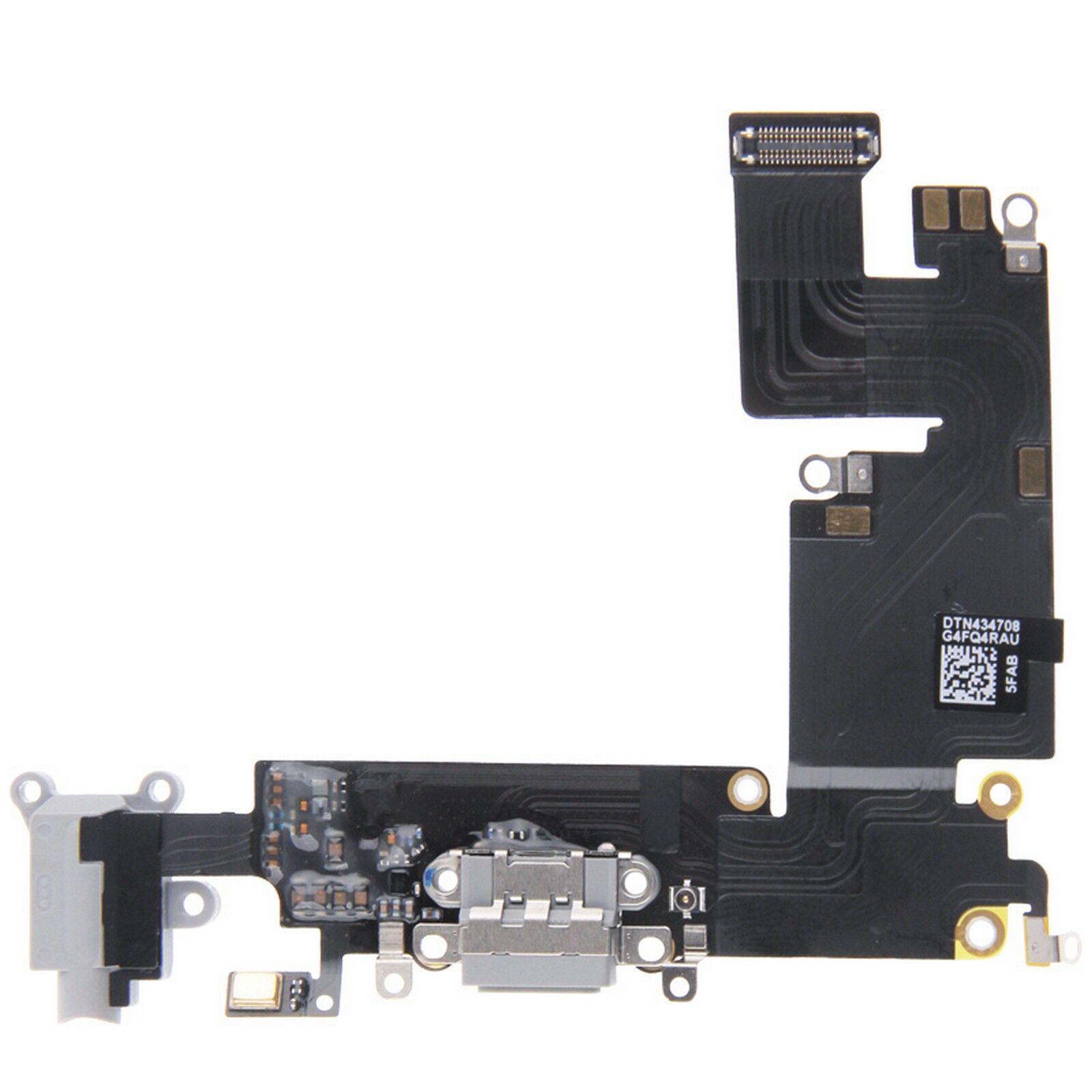 digital bay connettore carica dock microfono ricarica audio apple iphone 6 plus grigio scuro