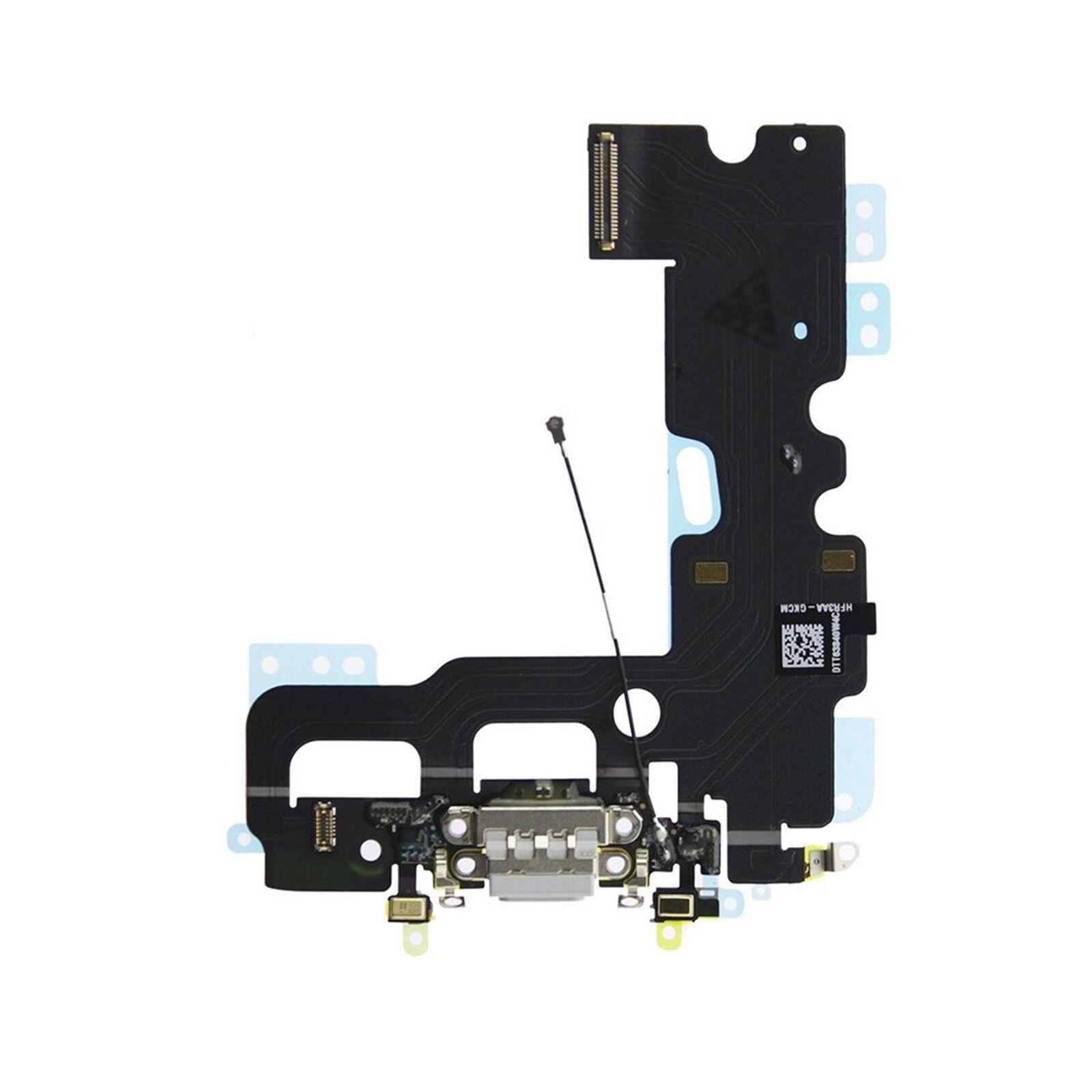 digital bay ricambio dock connettore porta flat ricarica microfono per apple iphone 7 plus grigio