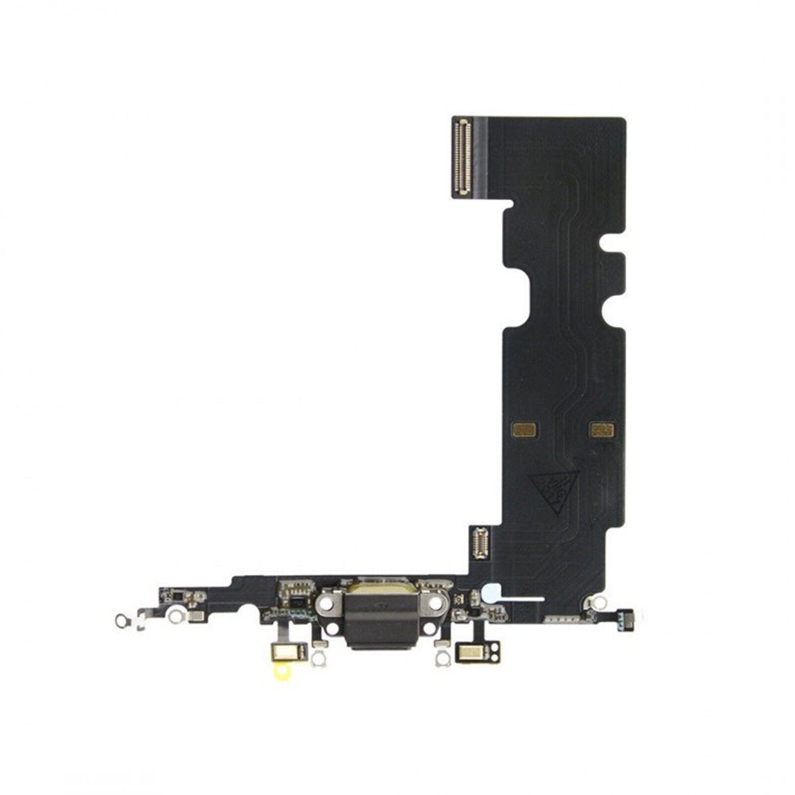 digital bay connettore porta flat ricarica dock microfono per apple iphone 8 plus nero