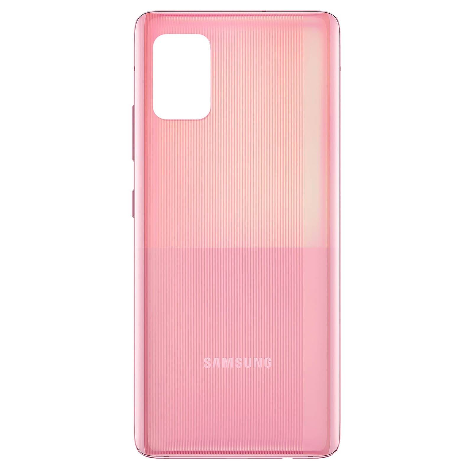 DIGITAL BAY Copri Batteria Ricambio Cover Scocca Retro Per Samsung Galaxy A51 A515 Rosa
