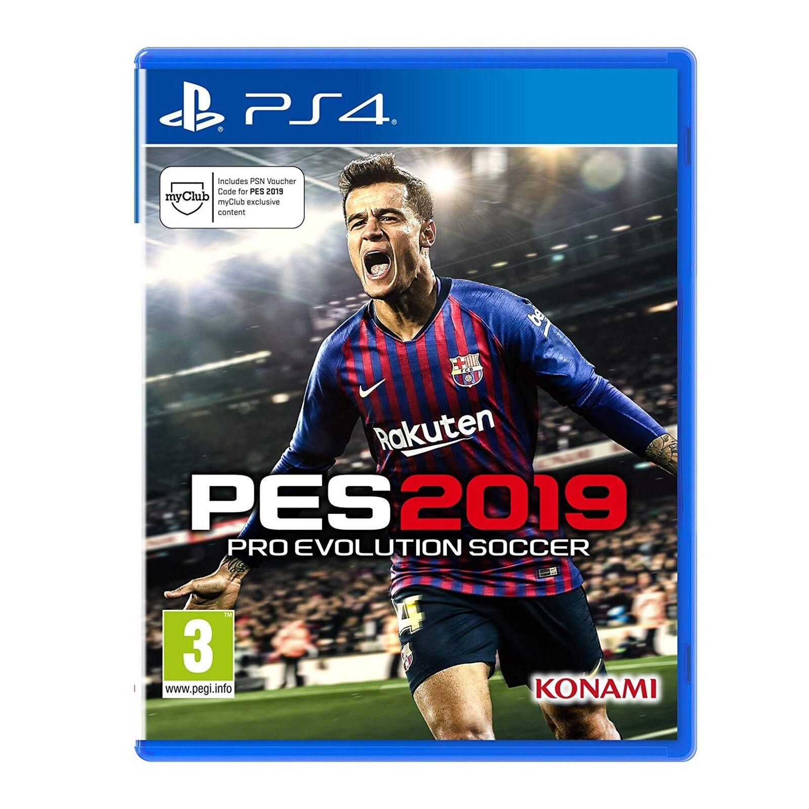 Konami Pro Evolution Soccer PES 2019 Videogioco per PlayStation 4 PS4