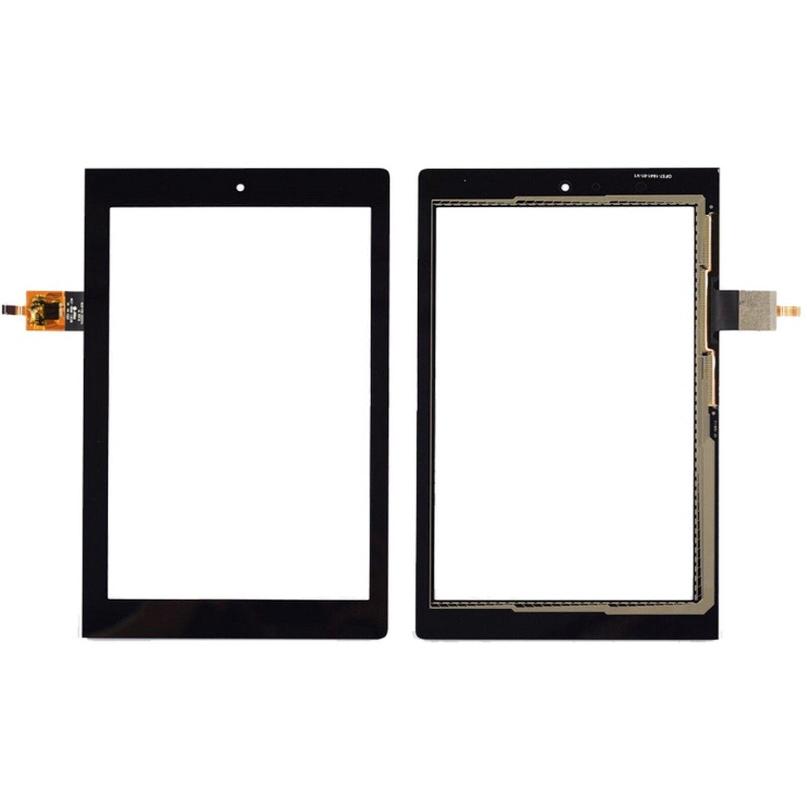 DIGITAL BAY Ricambio Vetro Glass Touch Screen Nero Per Lenovo Yoga Tablet 2 830L