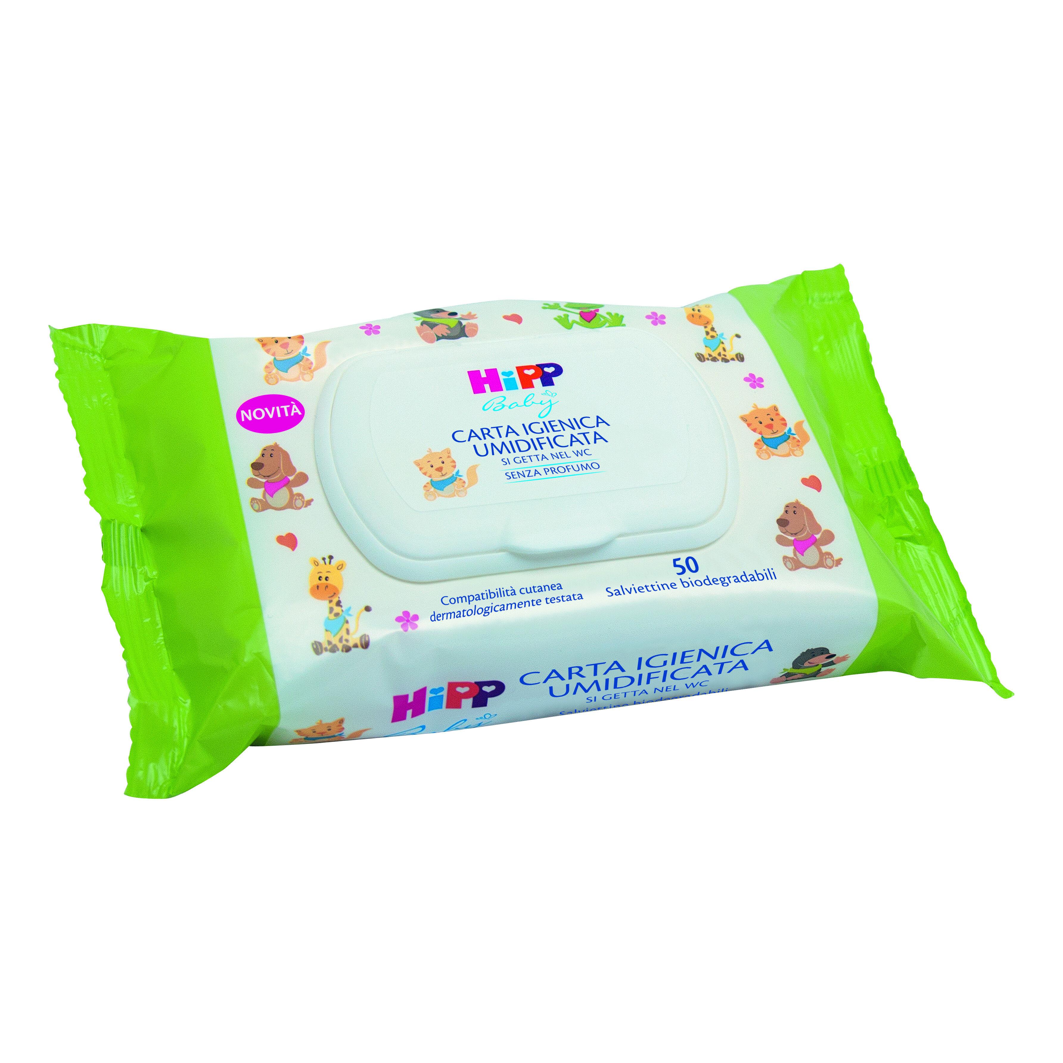Hipp Carta Igienica Umidif50pz