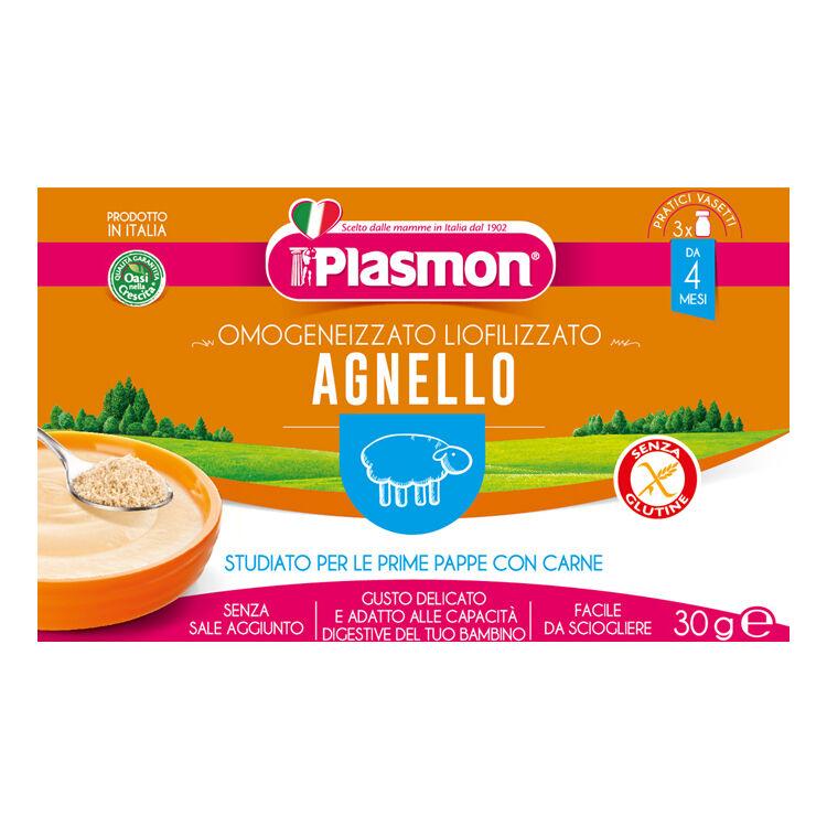 Plasmon Liofilizzato Pl.Agnello 3x10g