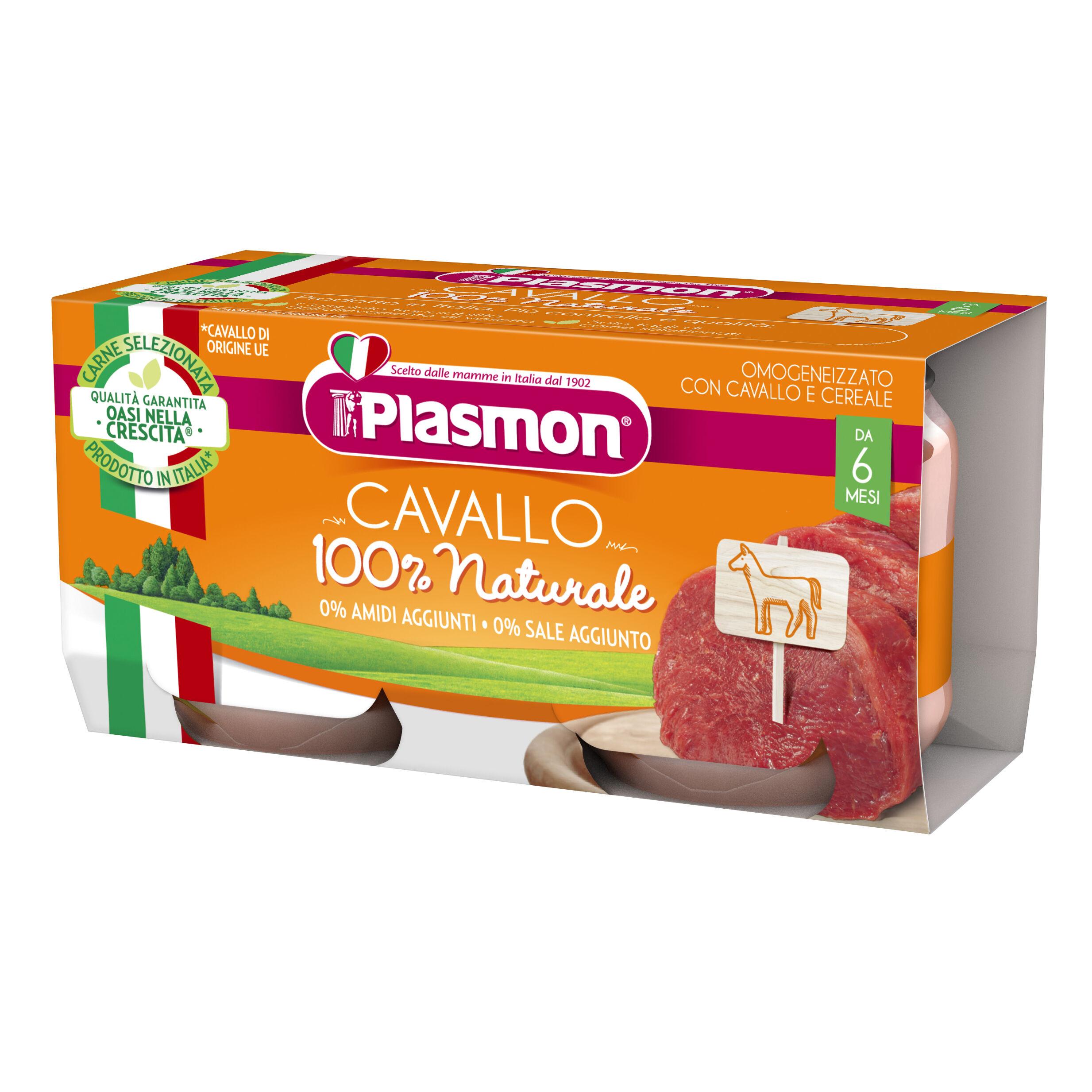 Plasmon (Heinz Italia Spa) Omo Pl.Cavallo 2x80g