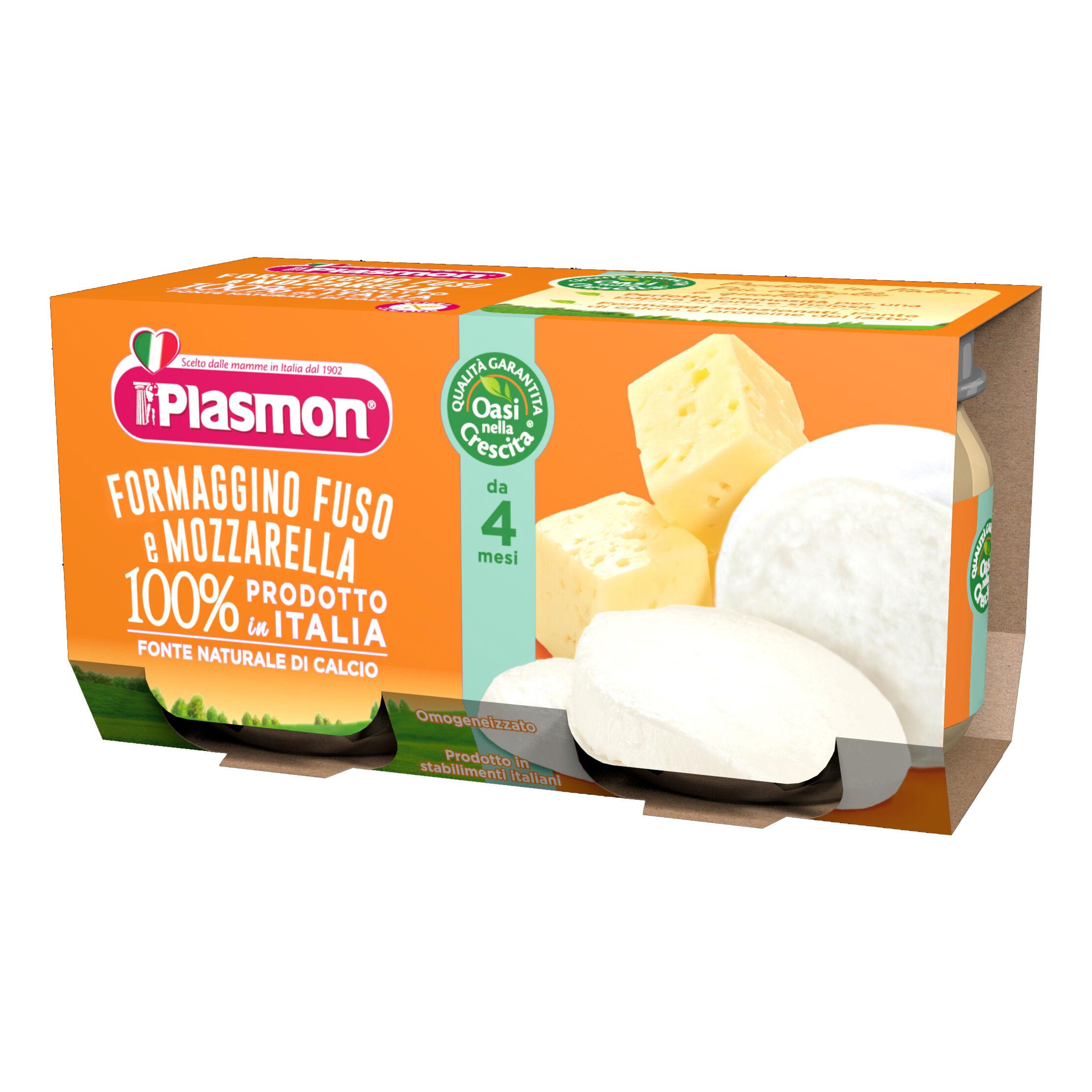 Plasmon Omo Pl.Formagg.Mozzarella2x80g