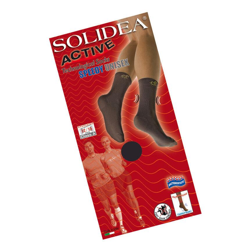 Solidea By Calzificio Pinelli Active Speedy Unisex Bianco 1 - S