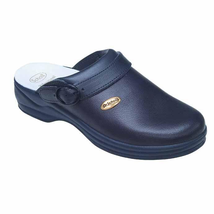 Scholl Clog Bonus Liscio Navy Blue 45
