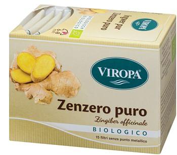 viropa import srl viropa zenzero puro bio 15 bustine