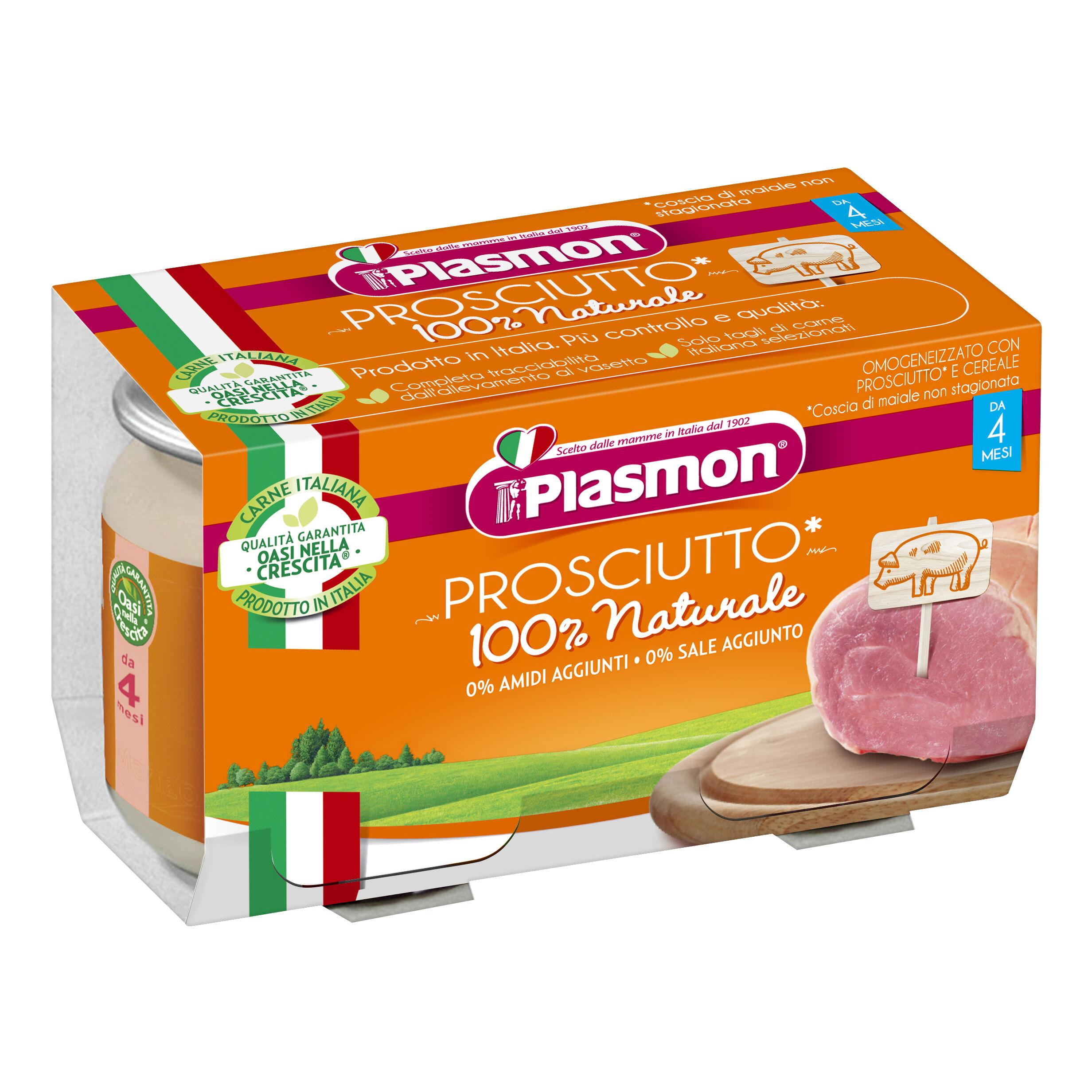 plasmon (heinz italia spa) omo pl.prosciutto 2x120g