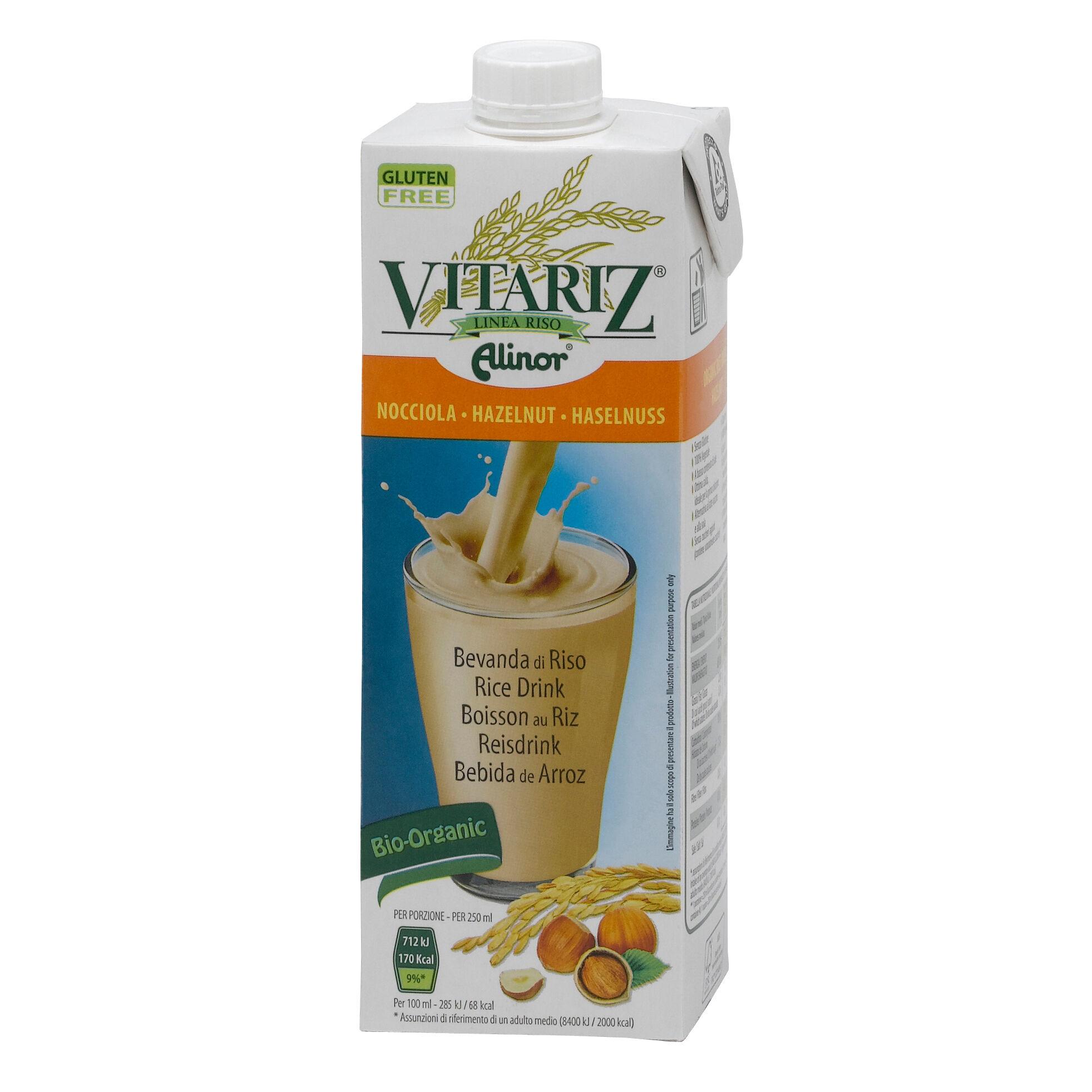 Alinor Spa Vitariz Latte Riso Nocc Bio1lt