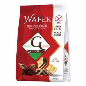 Guidolce Srl Guidolce Wafer Cacao 250g