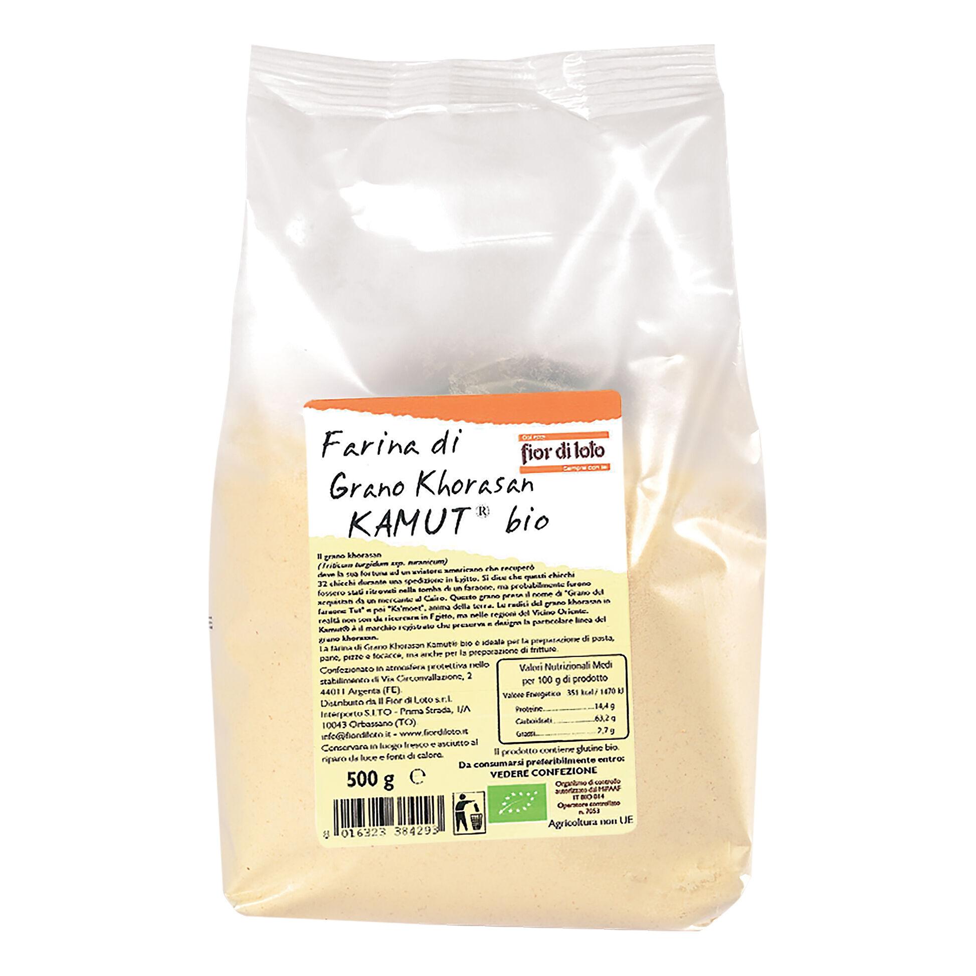Biotobio Farina Kamut Bi 500g (Fdl)
