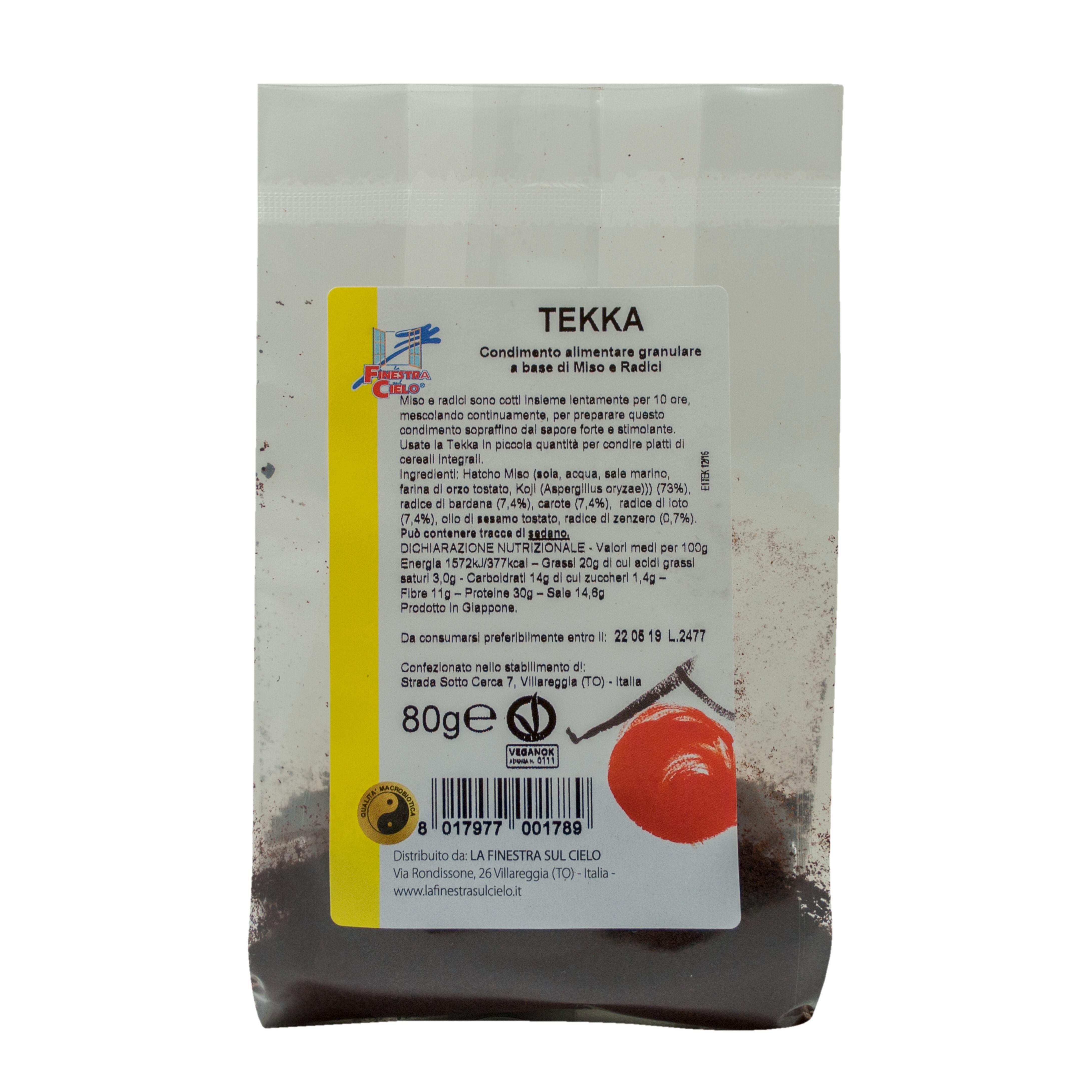 Biotobio Srl Tekka Condimento Miso/radici